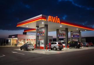 Нова бензиностанция AVIA